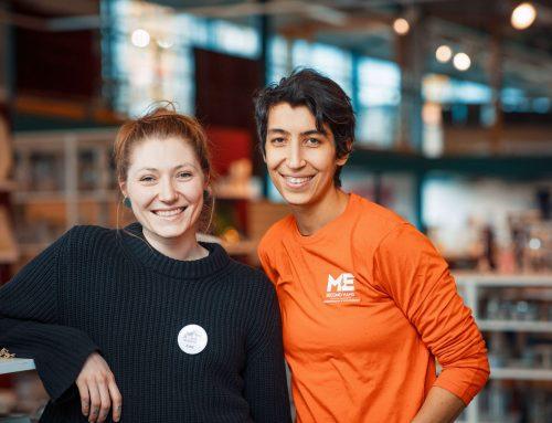 Som ergoterapeuter vil Åsne og Jasmin hjelpe folk i arbeid